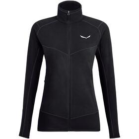 SALEWA *Plose 5 Pl Full Zip Jacket Women black out